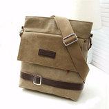 Холщевая сумка-планшет в стиле canvas bag