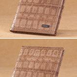 Мужской кошелек, портмоне MANBANG, натуральная кожа
