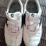 кроссовки копалки кожаные размер 36.5