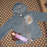 Наша джинсовая ветровка Gloria Jeans р. 104