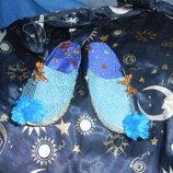 Тапочки в восточном стиле для костюмов Маленький Мук Султан и т.п.