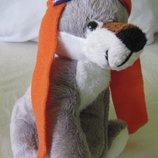 новые мягкие игрушки волченок собачка много дешево волк собака