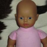 пупс малышка baby born Brigitte Leman zapf сreation Германия оригинал номер клеймо 34 см