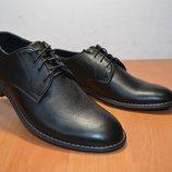 Кожаные мужские туфли.Натуральная кожа.