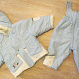 Куртка и комбинезон зимние Wojcik на 1-1,5 года