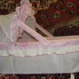 Люлька-Колыбель подвесная Geoby для девочки