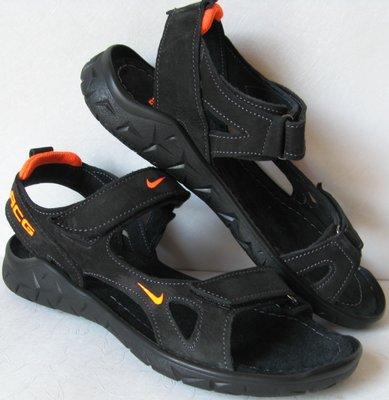 Nike кожаные мужские сандалии 40 41 42 43 44 45 сандали босоножки