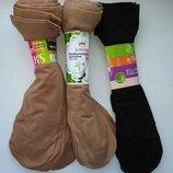 Носки капроновые женские лайкра-10 пар.Цвет загар бежевый