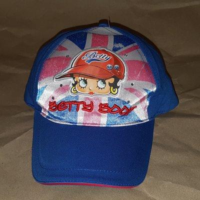 Кепка бейсболка 100% хлопок 56 р. Betty Boop синяя Sun City