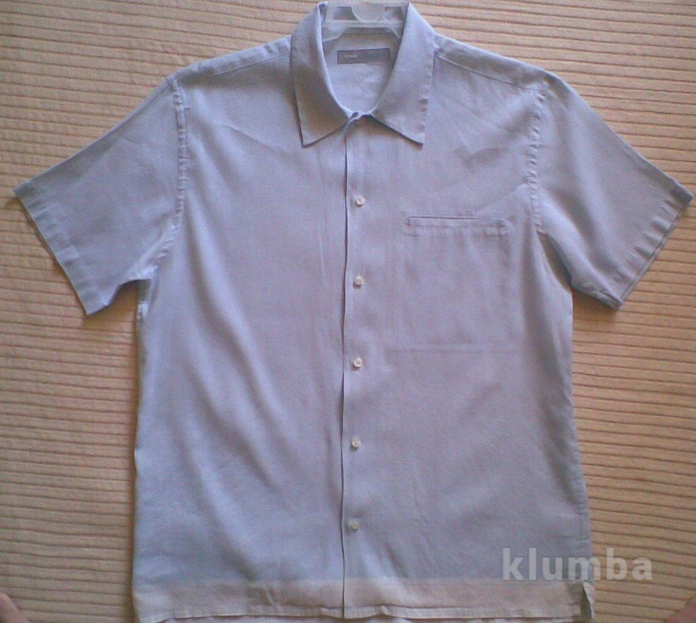 Мужская тенниска Лен р. М  95 грн - рубашки в Черкассах 29866a4f9aca8