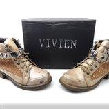 Модные Стильные Ботиночки-Ботинки VIVIEN Польша р.37