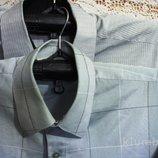 Рубашка мужская,ABBA большой размер 52-56, короткий рукав б/у, хлопок, фирменная, обмен