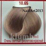 Concept-10-65 очень светлый-фиолетово-красный-срок годности 2017, крем-краска для волос, профи