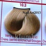 Concept-10.3 очень-светло-золотистый блондин, срок годности 2018- краска для волос, профессиональная