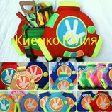 Детский рюкзак помогатор, помагатор, памагатор, памогатор.