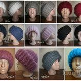 Хит сезона - объёмная шапка. Ручная работа