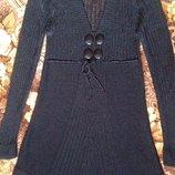 Продам вязанное платье - тунику