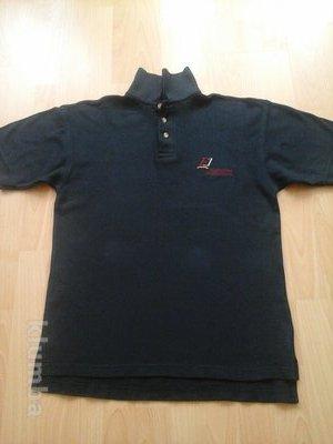 тениска темно- синяя polo&sweat. размер s