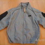 куртка голубая nike оригинал на 5-6 лет, рост 110-116 см.