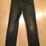 джинсы темно- синие на 7-8 лет рост 128 см. l.o.g.g. италия.