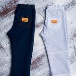 Штаны серые и синие с карманом 80-128р