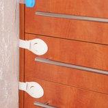 Акция Защита детей, замки на мебель, блокираторы двери, силиконовые уголки, безопасность детей