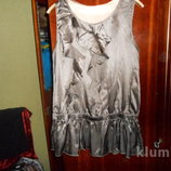 Шелковая блузка 50-52р, новая