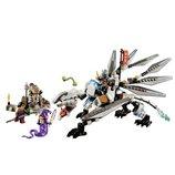 Титановый Дракон Конструктор BELA NINJA АНАЛОГ LEGO NINJAGO 359 Деталей 10323