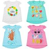 Новая коллекция футболок и туник для девочек, 92-152 см