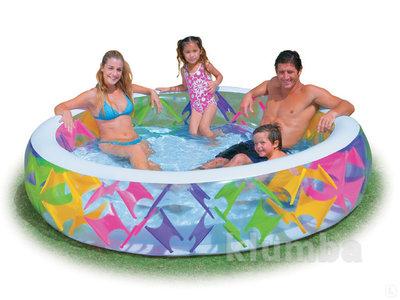 Бассейн 56494 детский надувной Intex Интекс , 229х56см, басейн дитячий