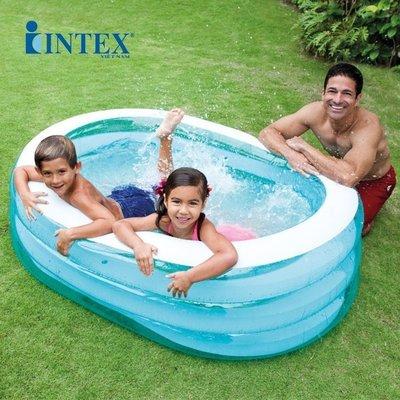 Бассейн 57482 детский надувной Intex Интекс, басейн дитячий