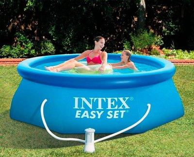 Бассейн Intex 28122 с насос - фильтр 305х76 см, 56922 интекс