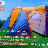 Туристическая палатка 1036 четырех местная Coleman 1036 Колеман