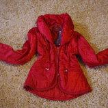 Куртка теплая короткая фирменная новая