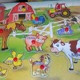 Ферма-Трактор Рамка Вкладыш 0009