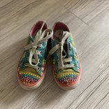 Яркие кеды Skechers skechers twinkle toes оригинал