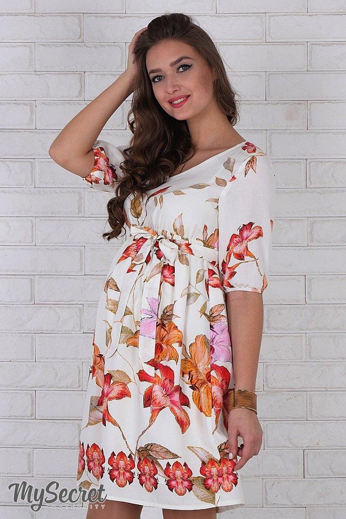 Летнее платье для беременных, штапель  736 грн - платья, сарафаны, юбки в  Харькове, объявление №9602698 Клубок (ранее Клумба) 060c61262c1