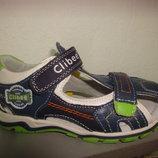 Босоножки 29 р. 17,5 см Clibee на мальчика, сандалии, босоніжки, сандалі, хлопчик, закрытые, клиби