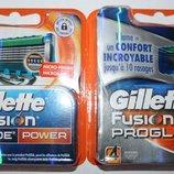 Gillette Fusion proglide Power оригинал Германия 4 штучки в упаковке