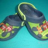 Фирменные босоножки кроксы оригинал для мальчика на наш 31-32 размер