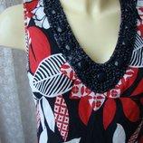 Платье женское летнее льняное лен George р.44 6413