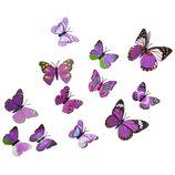 Декоративные бабочки, украшения на стену