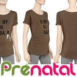 Футболка с принтом для беременных Prenatal Италия
