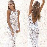 платье - туника пляжная женская Хит ажурная