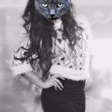 свитер травка 44-46-48р черно-белый кофта/джемпер
