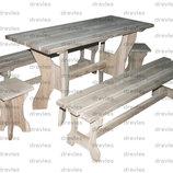Набор мебели в беседку / Нм-4