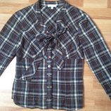Классная блузка в клетку Kookai, Франция, 38 р-р