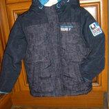 Деми комбинезон, теплая немецкая куртка Тополино 110-128