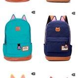 Распродажа Оригинальный рюкзак с ушками В наличии 9цветов