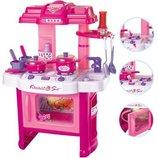 Детская кухня электронная 008-26 А. Розовая